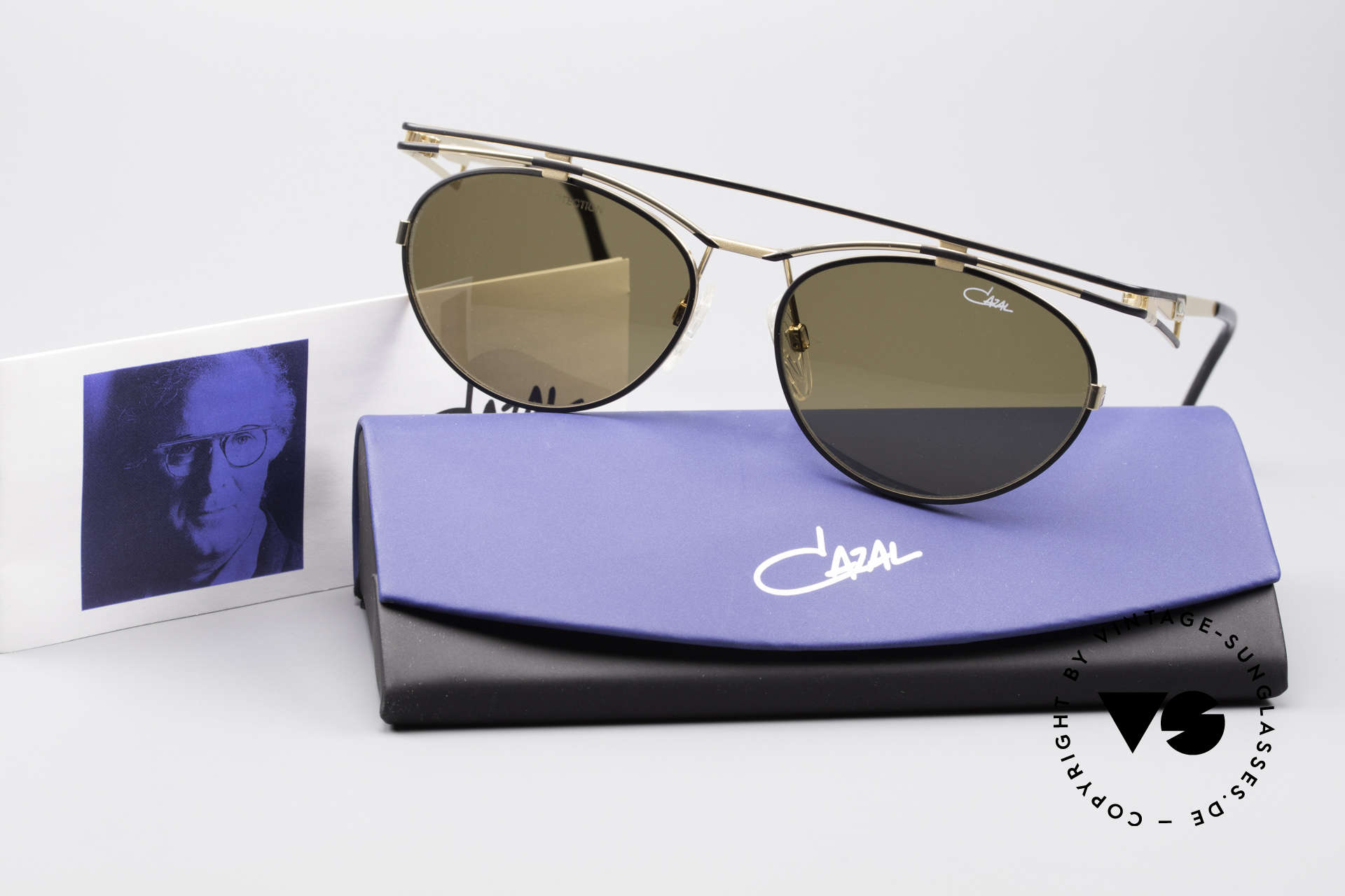 Cazal 970 Extraordinary 90's Shades, Size: large, Made for Women