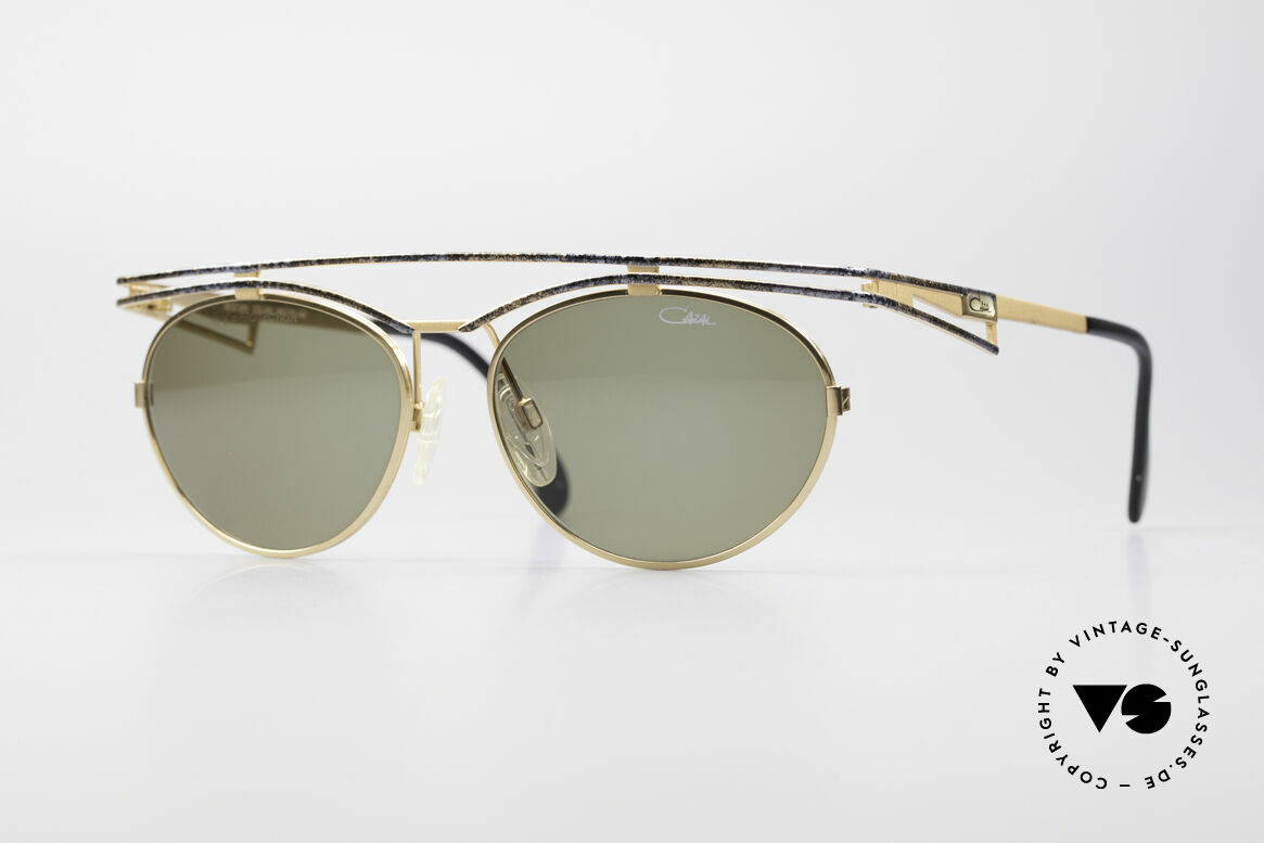 Cazal 970 Extraordinary Shades Women, trendy cult designer sunglasses by CAZAL from 1997, Made for Women