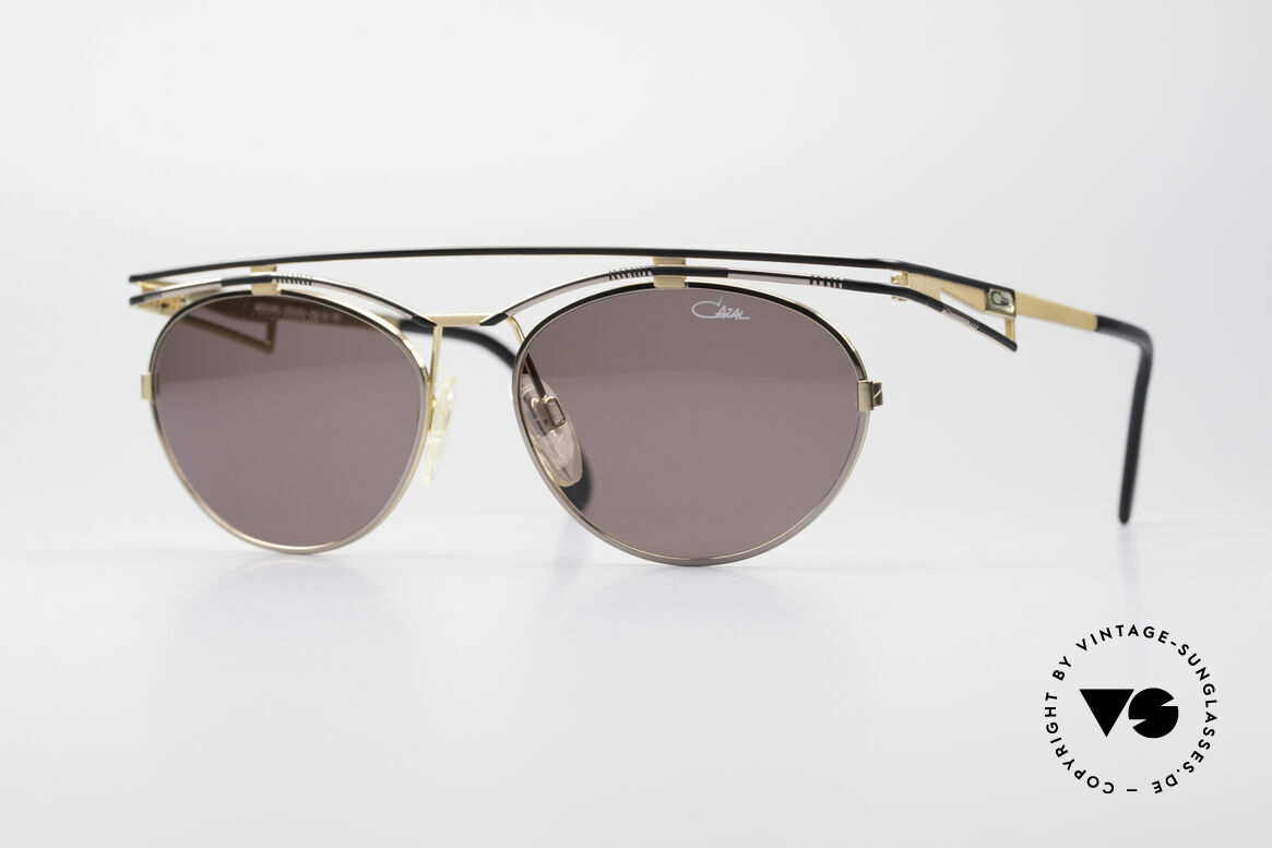 Cazal 970 Extraordinary Ladies Shades, trendy cult designer sunglasses by CAZAL from 1997, Made for Women