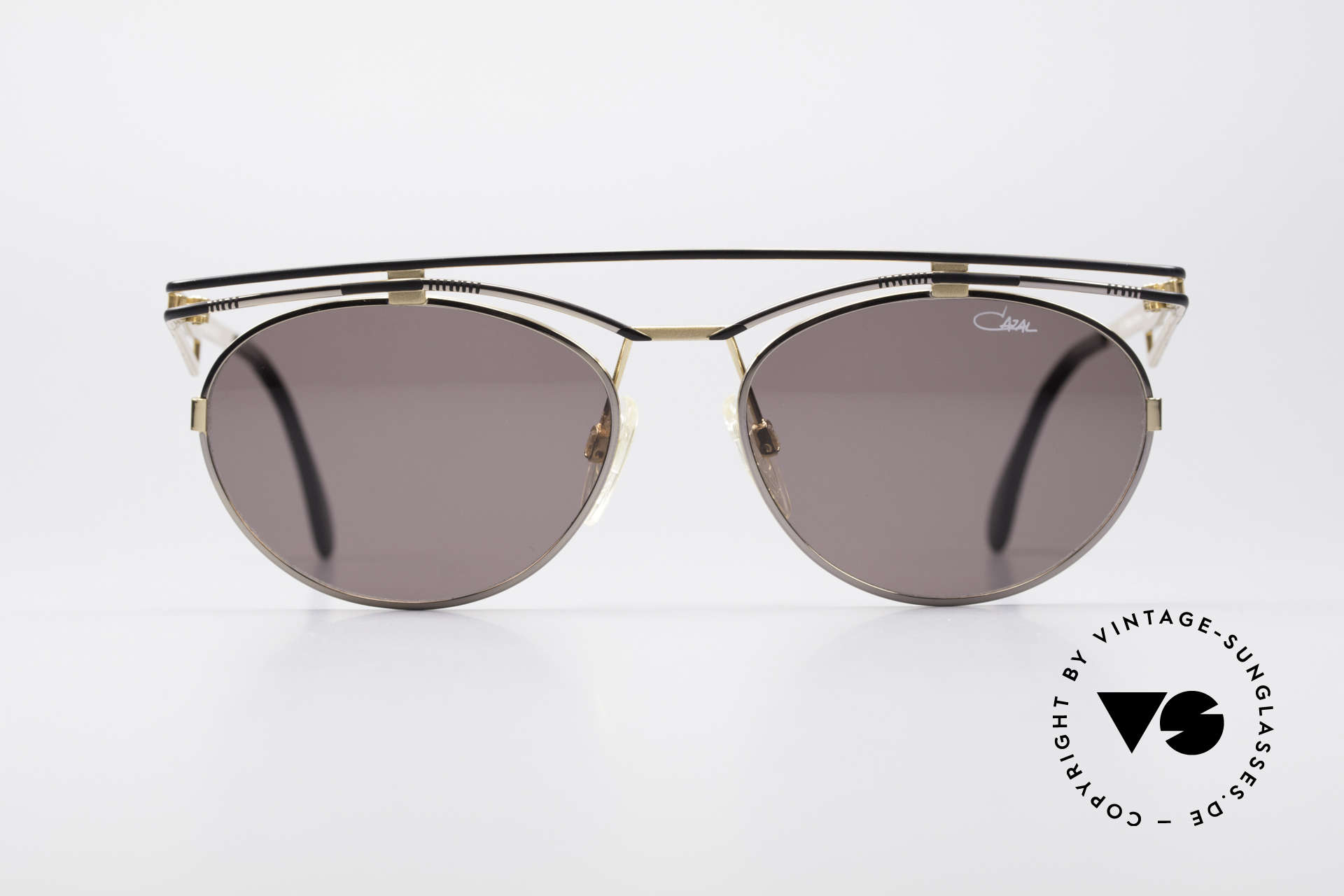 Cazal 970 Extraordinary Ladies Shades, playful metal frame construction - pure extravagance!, Made for Women