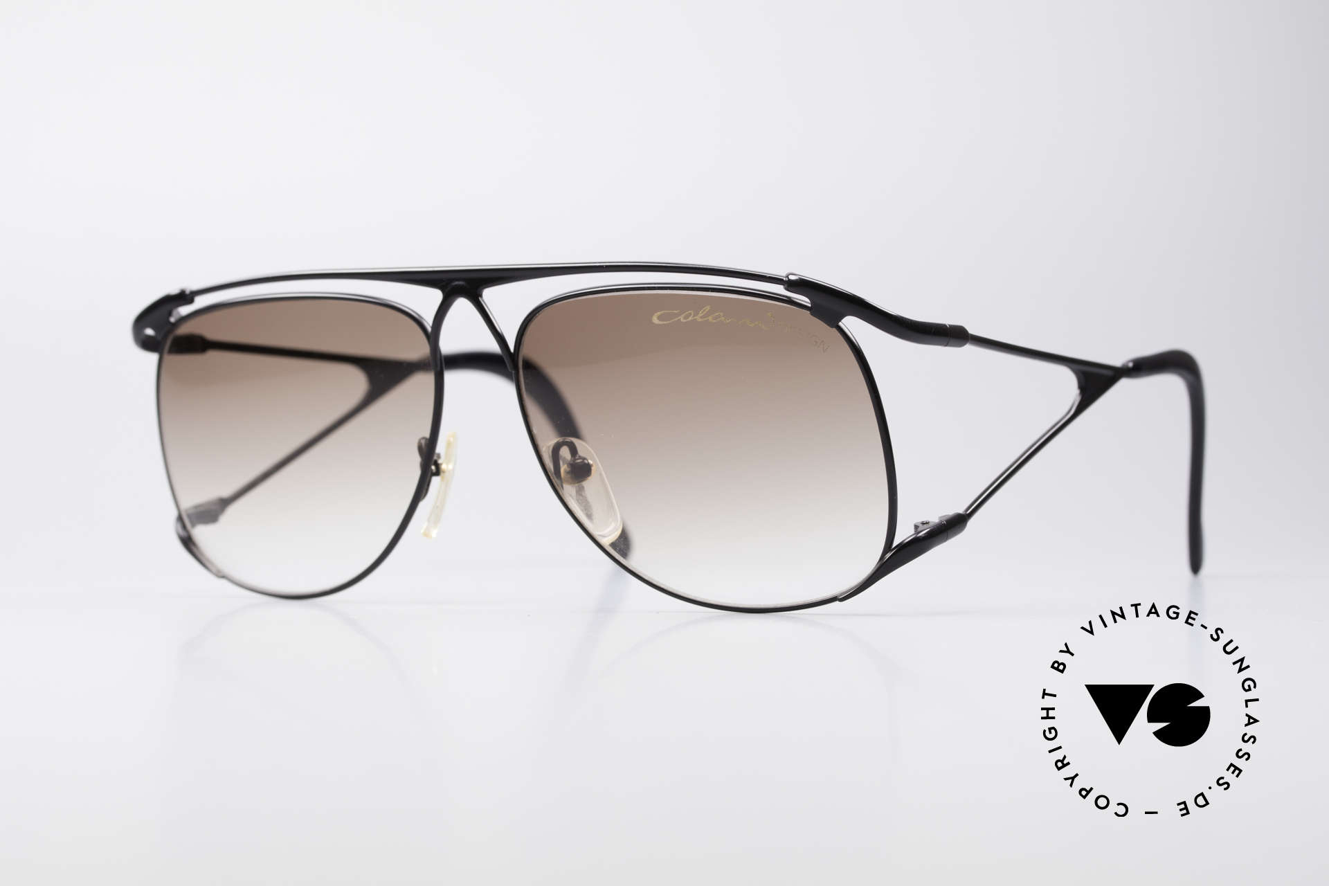 Colani 15-501 Rare 80's Designer Glasses, very flashy Luigi Colani sunglasses from the 80's, Made for Men