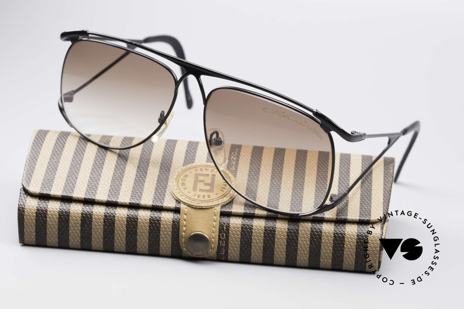 Colani 15-501 Rare 80's Designer Glasses, this spectacular model comes with a FENDI case, Made for Men