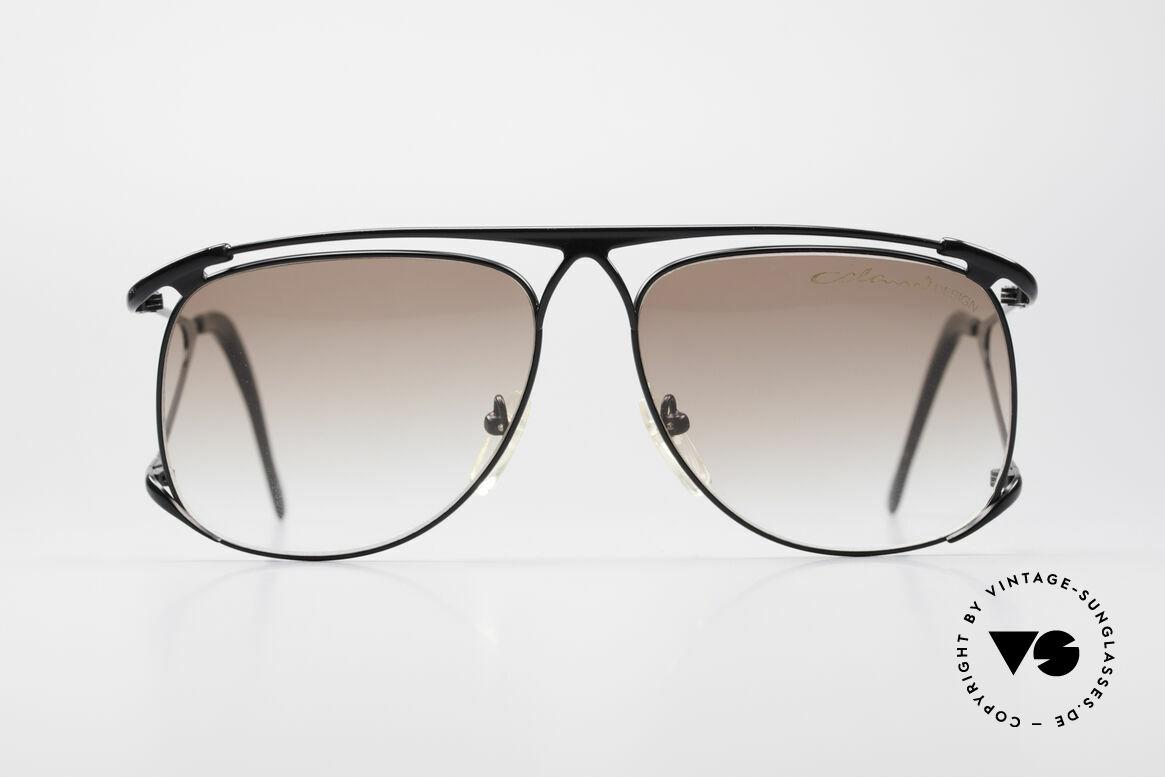 Colani 15-501 Rare 80's Designer Glasses, impressive metal frame (top-notch craftsmanhip), Made for Men