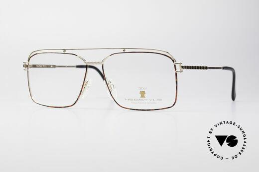 Neostyle Dynaty 424 - XL 80's Titanium Men's Frame Details