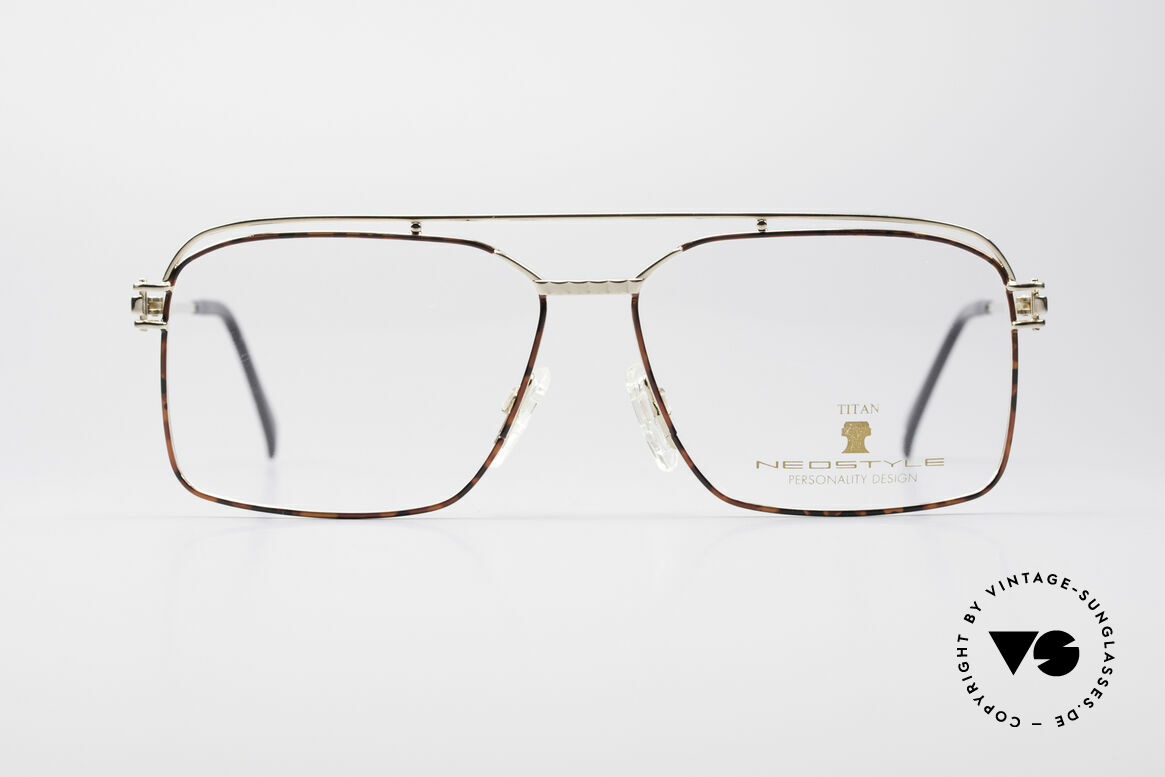 Neostyle Dynasty 424 - XL 80's Titanium Men's Frame, top-notch craftsmanship (pure Titanium frame), Made for Men