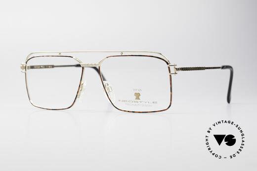 Neostyle Dynaty 424 - L 80's Titanium Men's Frame Details