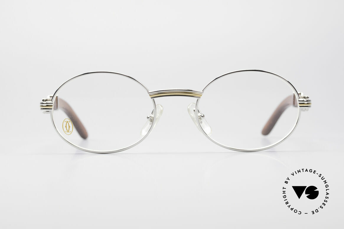 Cartier Giverny Oval Wood Platinum Frame