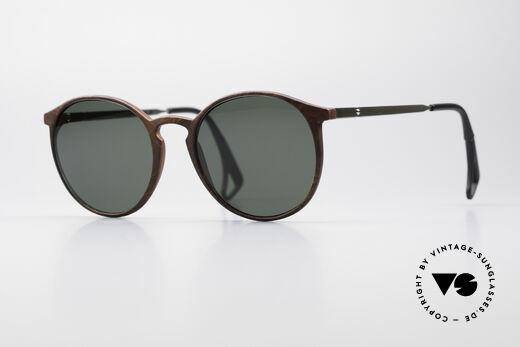 Uvex 9259 Classic Panto Sunglasses 90s Details