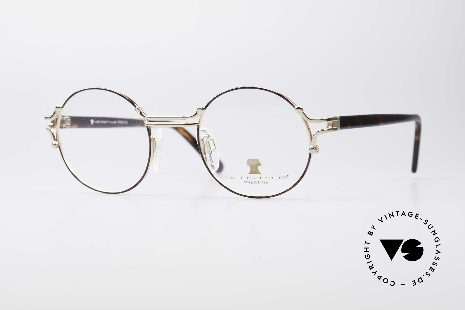 Neostyle Academic 8 Round Vintage Glasses 80's, Neostlye Academic 8 Prestige vintage glasses, Made for Men and Women
