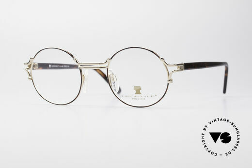 Neostyle Academic 8 Round Vintage Glasses 80's Details