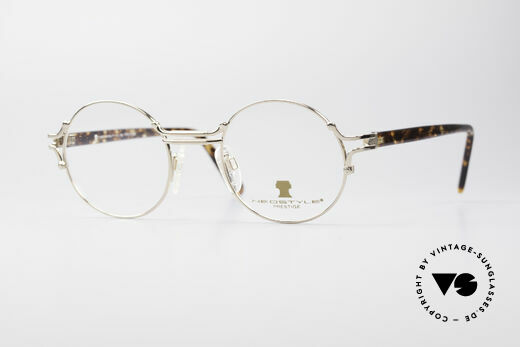 Neostyle Academic 8 Round Vintage Eyeglasses Details