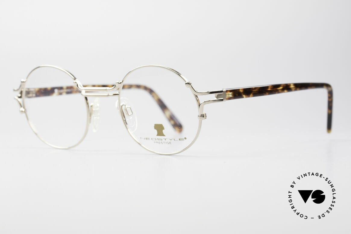 Neostyle Academic 8 Round Vintage Eyeglasses, truly high-end craftsmanship, made in Germany, Made for Men and Women