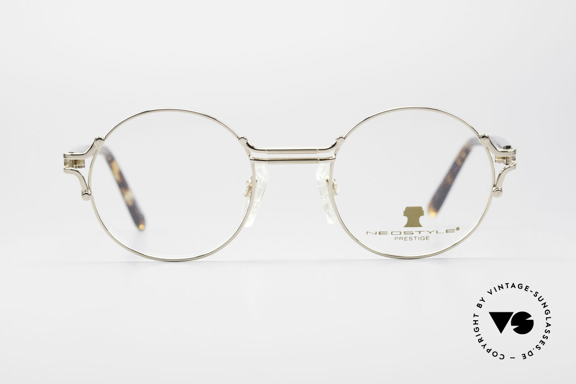 Neostyle Academic 8 Round Vintage Eyeglasses, round, timeless vintage eyeglasses of the 80's, Made for Men and Women