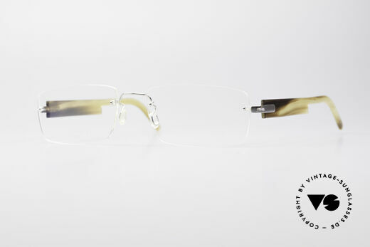 Lindberg T52 Horn Precious 18kt Solid White Gold Details