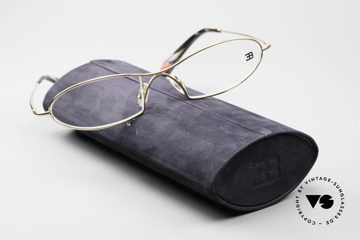 Bugatti 343 Odotype Men's Designer Vintage Frame