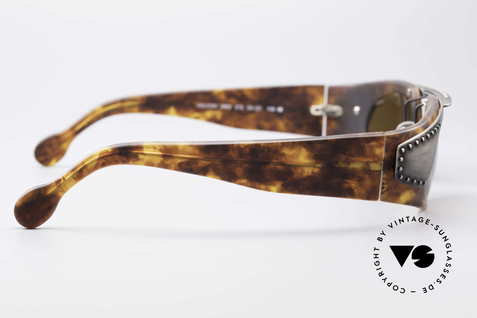 Neostyle Holiday 2002 Vintage Steampunk Sunglasses, NO RETRO shades, but a rare ORIGINAL with case, Made for Men