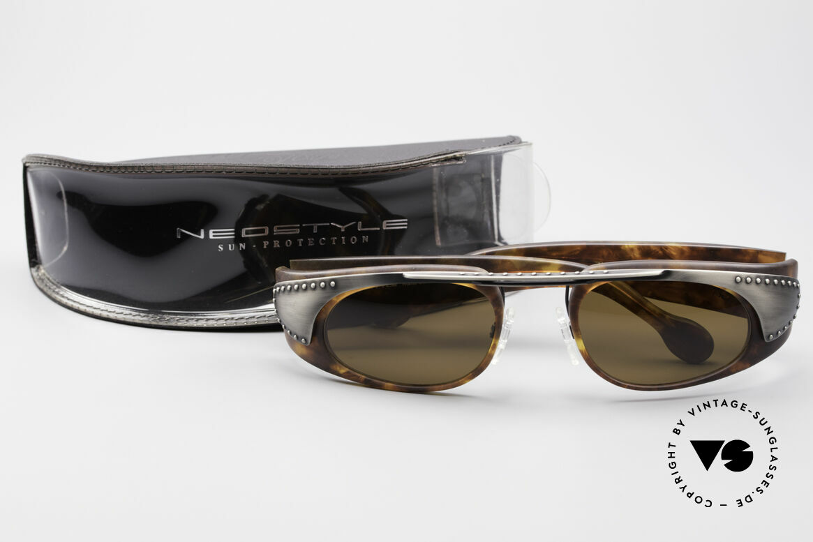 Neostyle Holiday 2002 Vintage Steampunk Sunglasses, Size: extra large, Made for Men