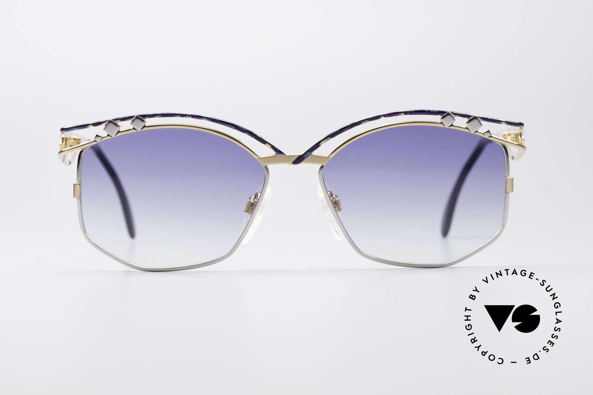 Cazal 280 True Vintage Ladies Sunglasses, distinctive creation by CAri ZALloni (Mr. CAZAL, RIP), Made for Women
