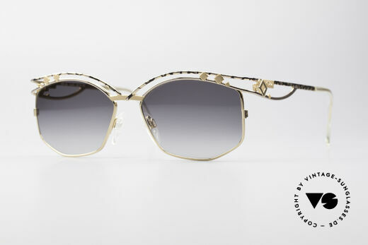 Cazal 280 90's Vintage Ladies Sunglasses Details