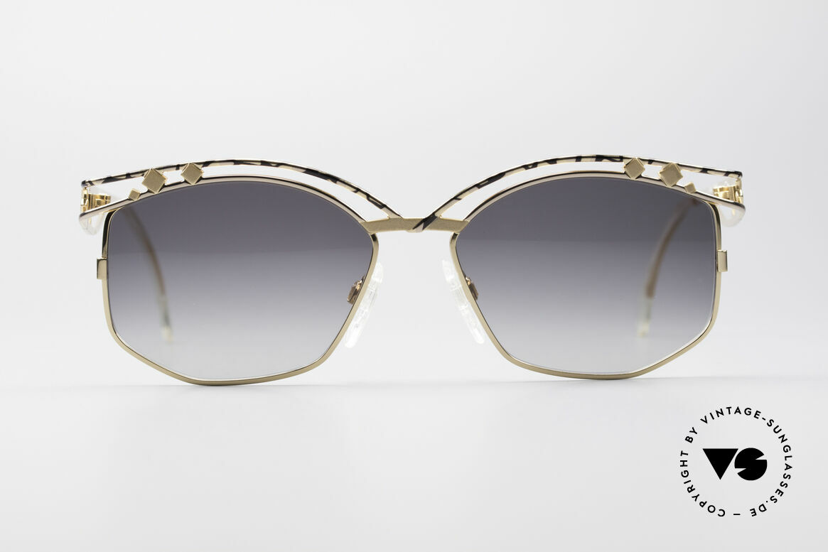 Cazal 280 90's Vintage Ladies Sunglasses, distinctive creation by CAri ZALloni (Mr. CAZAL, RIP), Made for Women