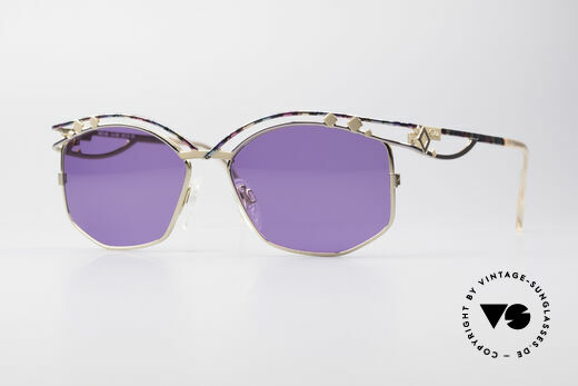 Cazal 280 90s Designer Sunglasses Ladies Details