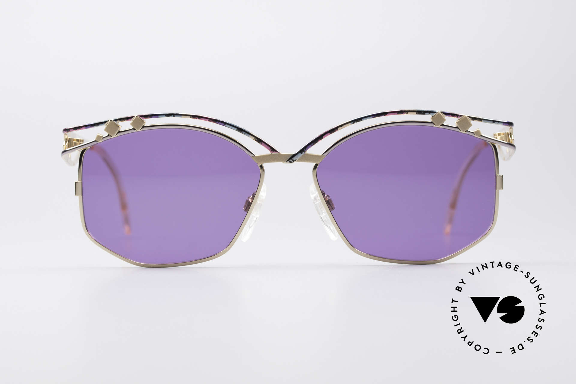 Cazal 280 90s Designer Sunglasses Ladies, distinctive creation by CAri ZALloni (Mr. CAZAL, RIP), Made for Women