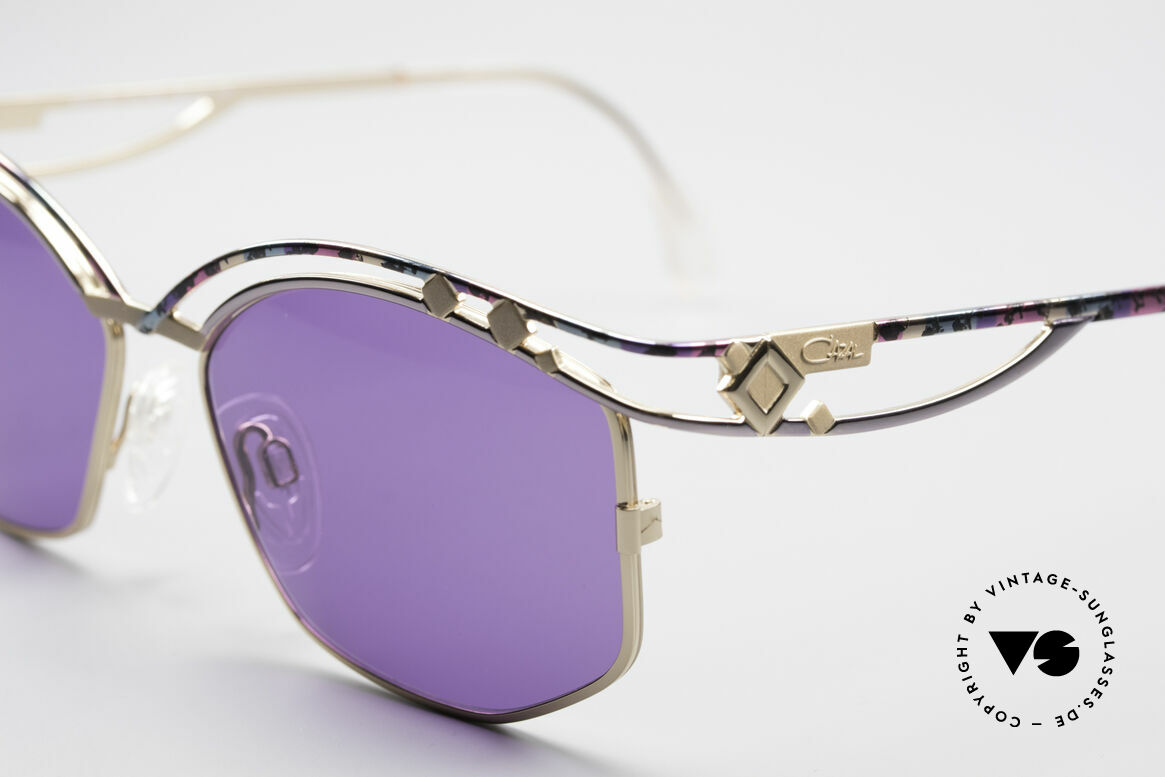 Cazal 280 90s Designer Sunglasses Ladies, unworn condition (like all our vintage Cazal eyewear), Made for Women