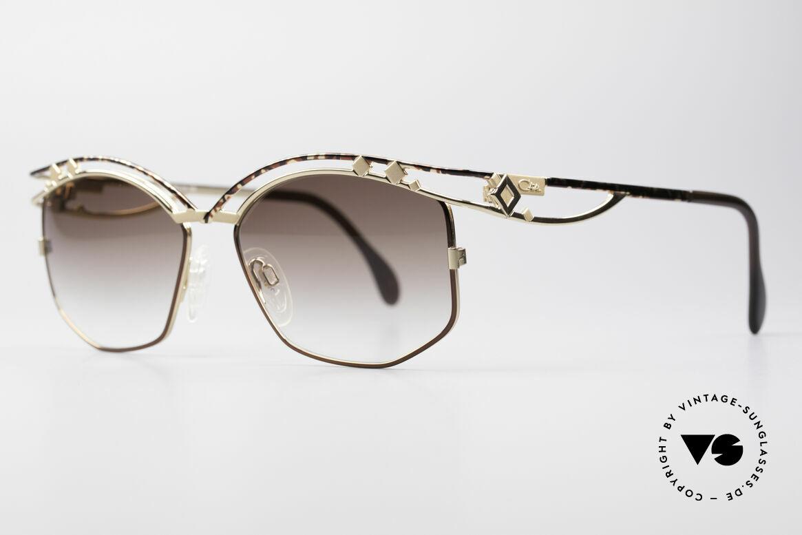 Cazal 280 Rare 90's Designer Sunglasses, true eye-catcher & high-end quality (frame Germany), Made for Women