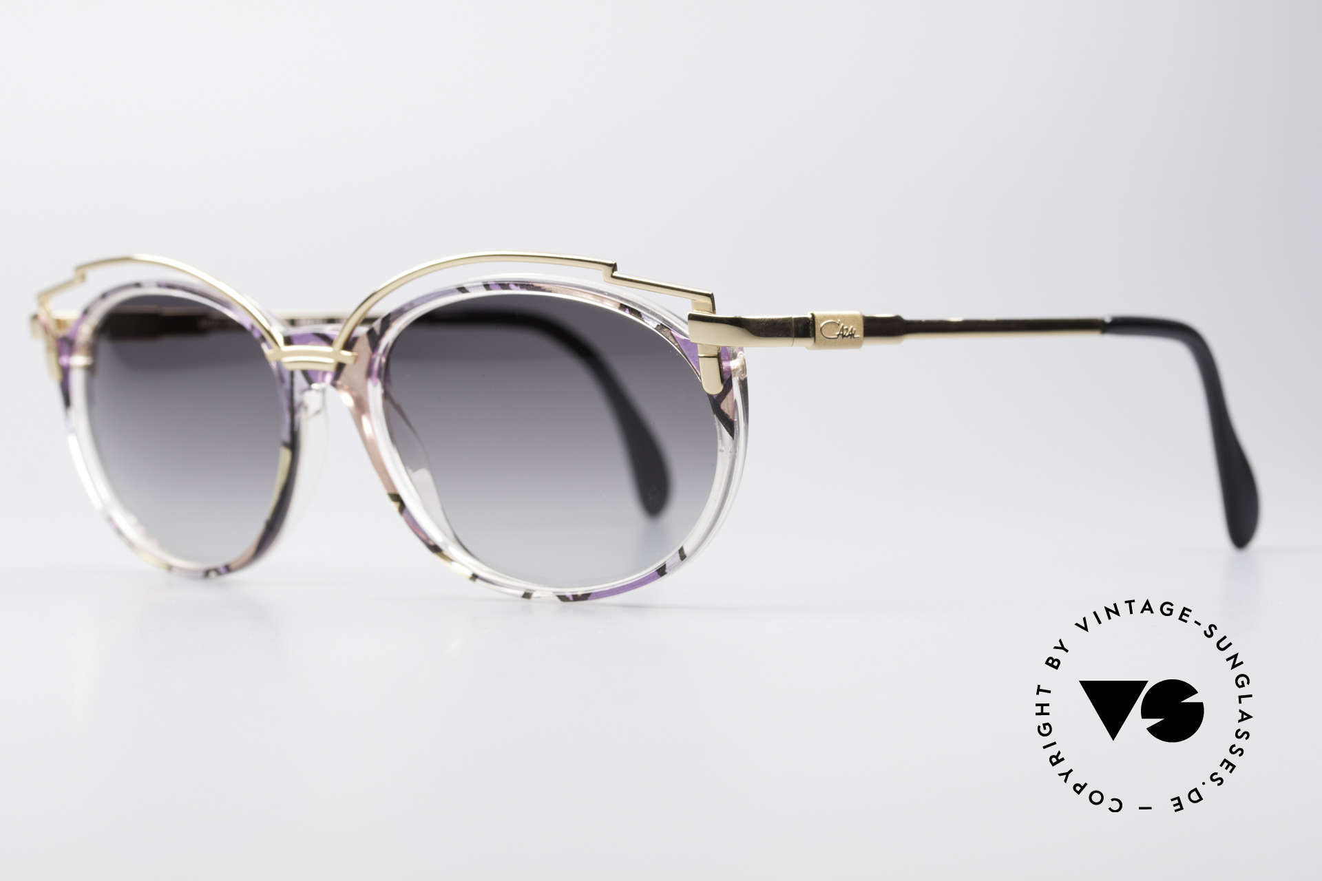 Cazal 358 Vintage 90's Creation Cazal, the design looks even more spectacular with sun lenses, Made for Women