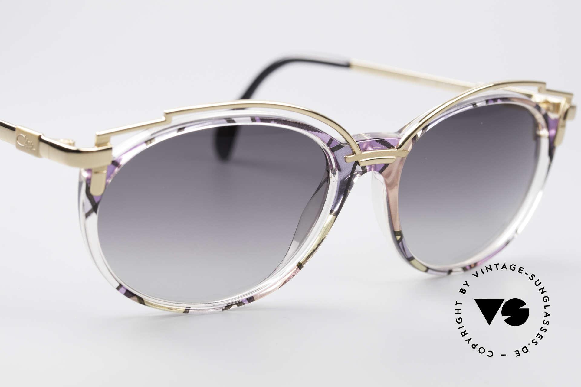 Cazal 358 Vintage 90's Creation Cazal, unworn, NOS (like all our rare vintage Cazal eyewear), Made for Women