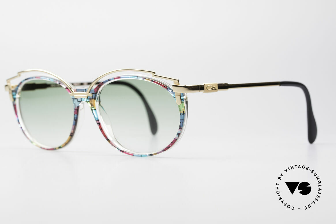Cazal 358 No Retro True Vintage Shades, the design looks even more spectacular with sun lenses, Made for Women