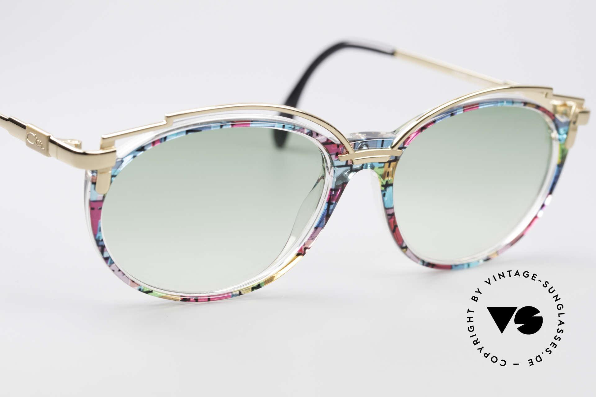 Cazal 358 No Retro True Vintage Shades, unworn, NOS (like all our rare VINTAGE Cazal eyewear), Made for Women