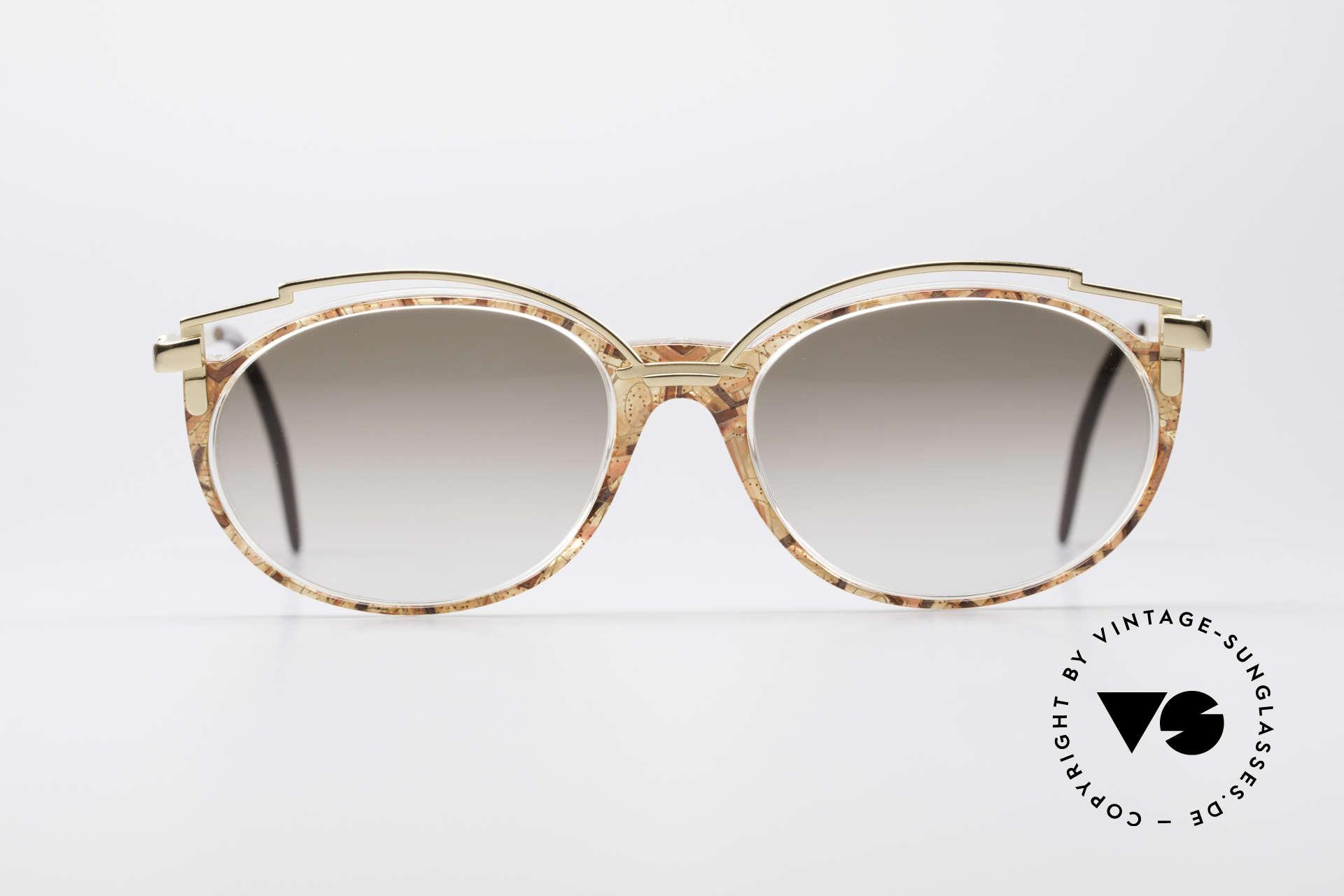 Cazal 358 90's Ladies Sunglasses Vintage, delightful metal ornamentation above the plastic frame, Made for Women