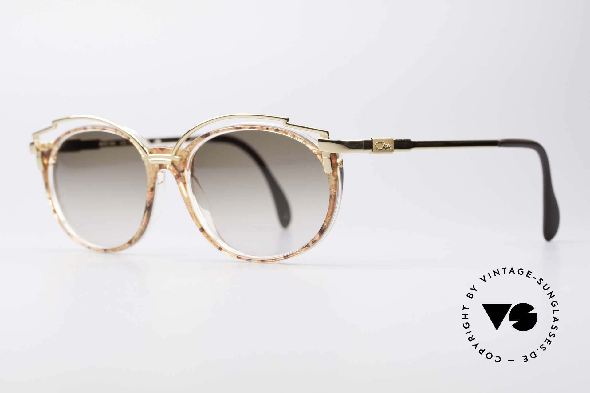 Cazal 358 90's Ladies Sunglasses Vintage, the design looks even more spectacular with sun lenses, Made for Women