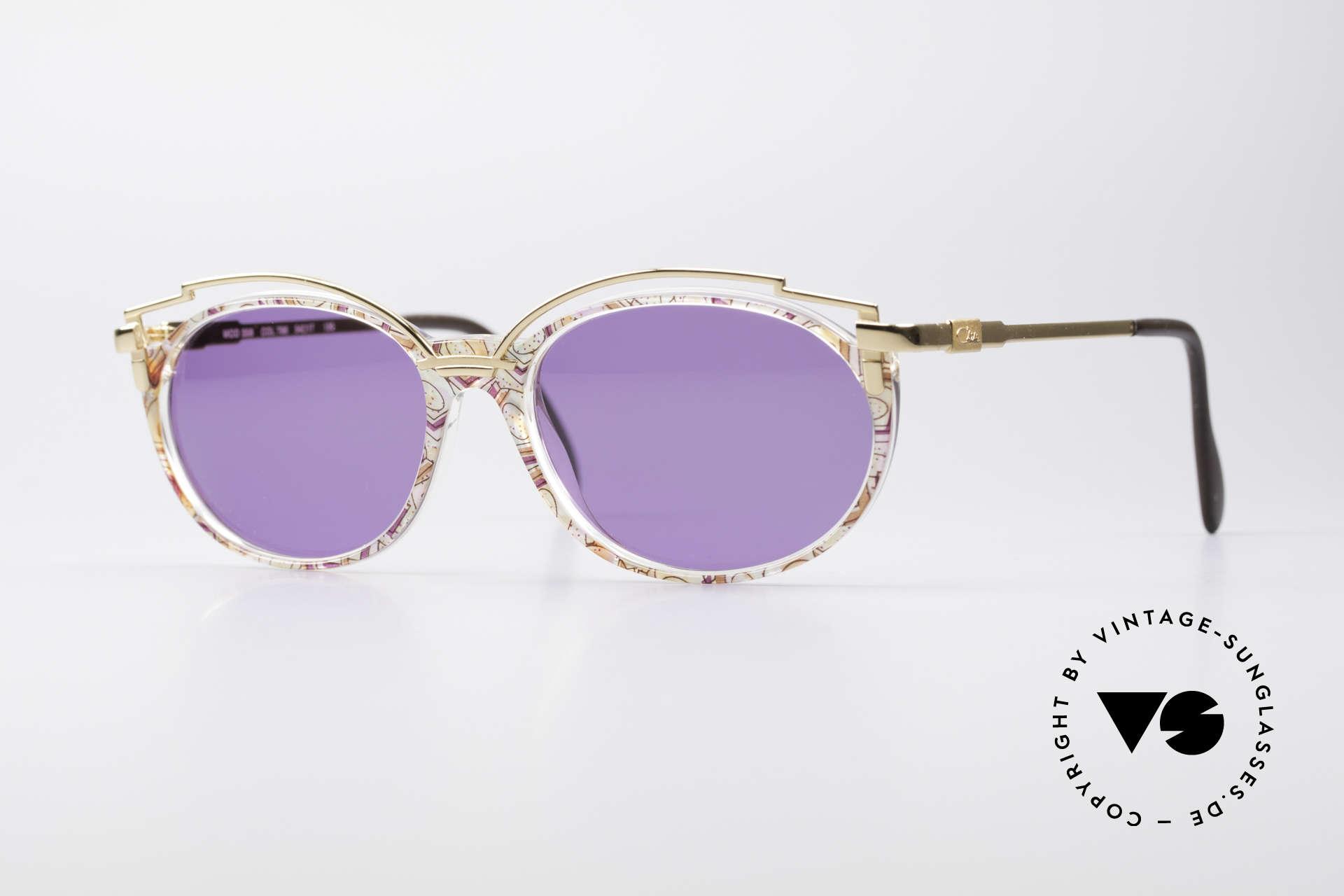 Cazal 358 Rare 90's Vintage Sunglasses, enchanting VINTAGE sunglasses from 1996 by CAZAL, Made for Women