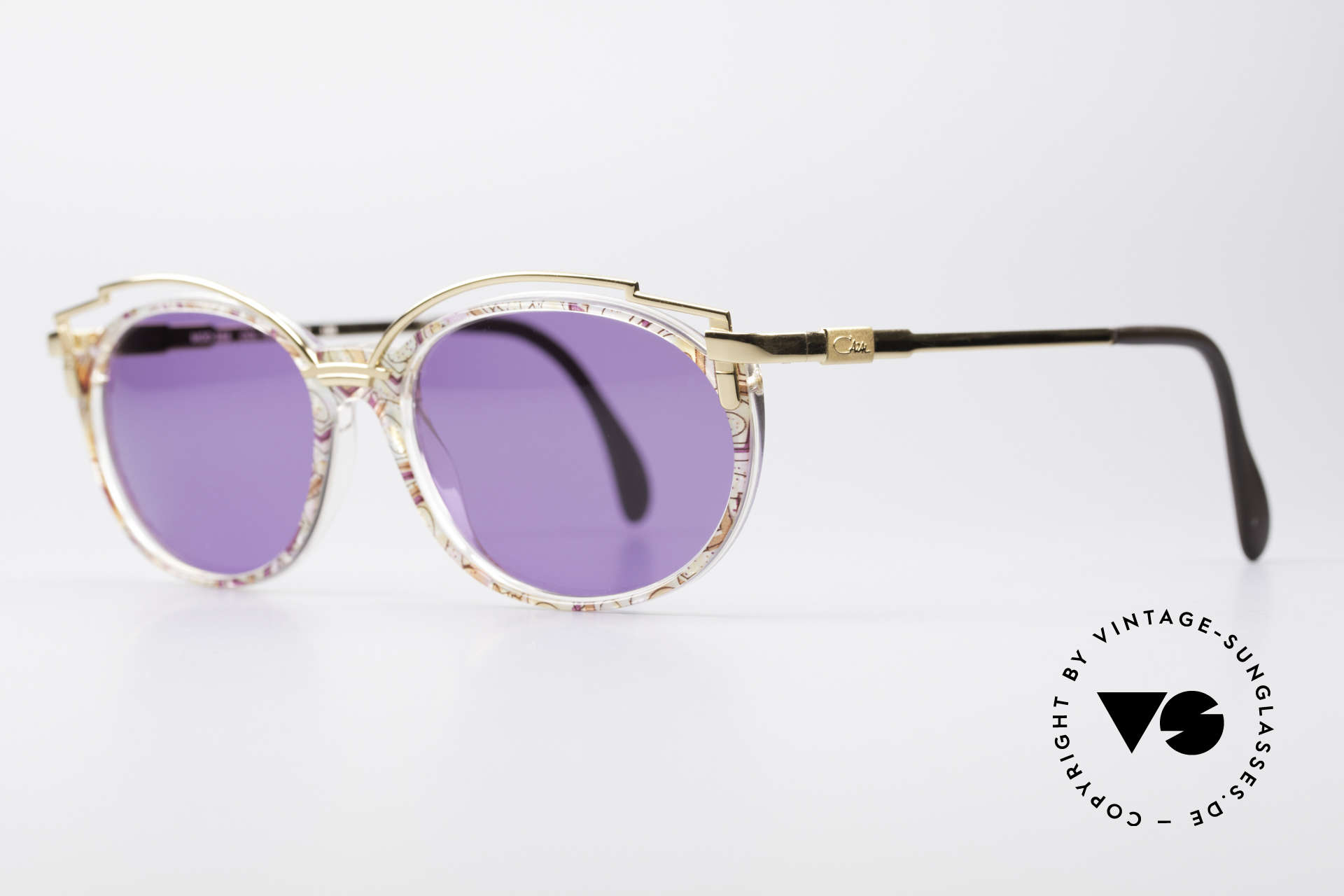 Cazal 358 Rare 90's Vintage Sunglasses, the design looks even more spectacular with sun lenses, Made for Women