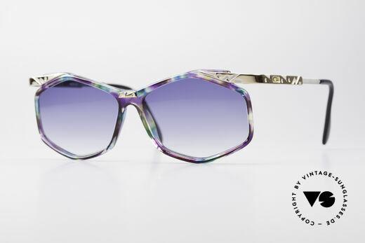 Cazal 354 Vintage Designer Sunglasses Details