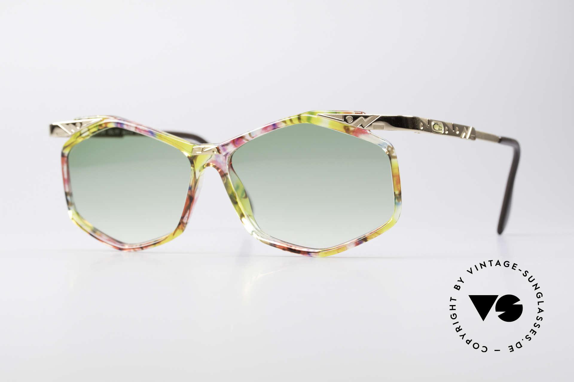 Cazal 354 Vintage 90s Sunglasses Women, extraordinary Cazal designer sunglasses from 1992, Made for Women