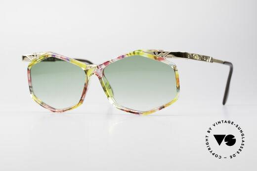 Cazal 354 Vintage 90s Sunglasses Women Details