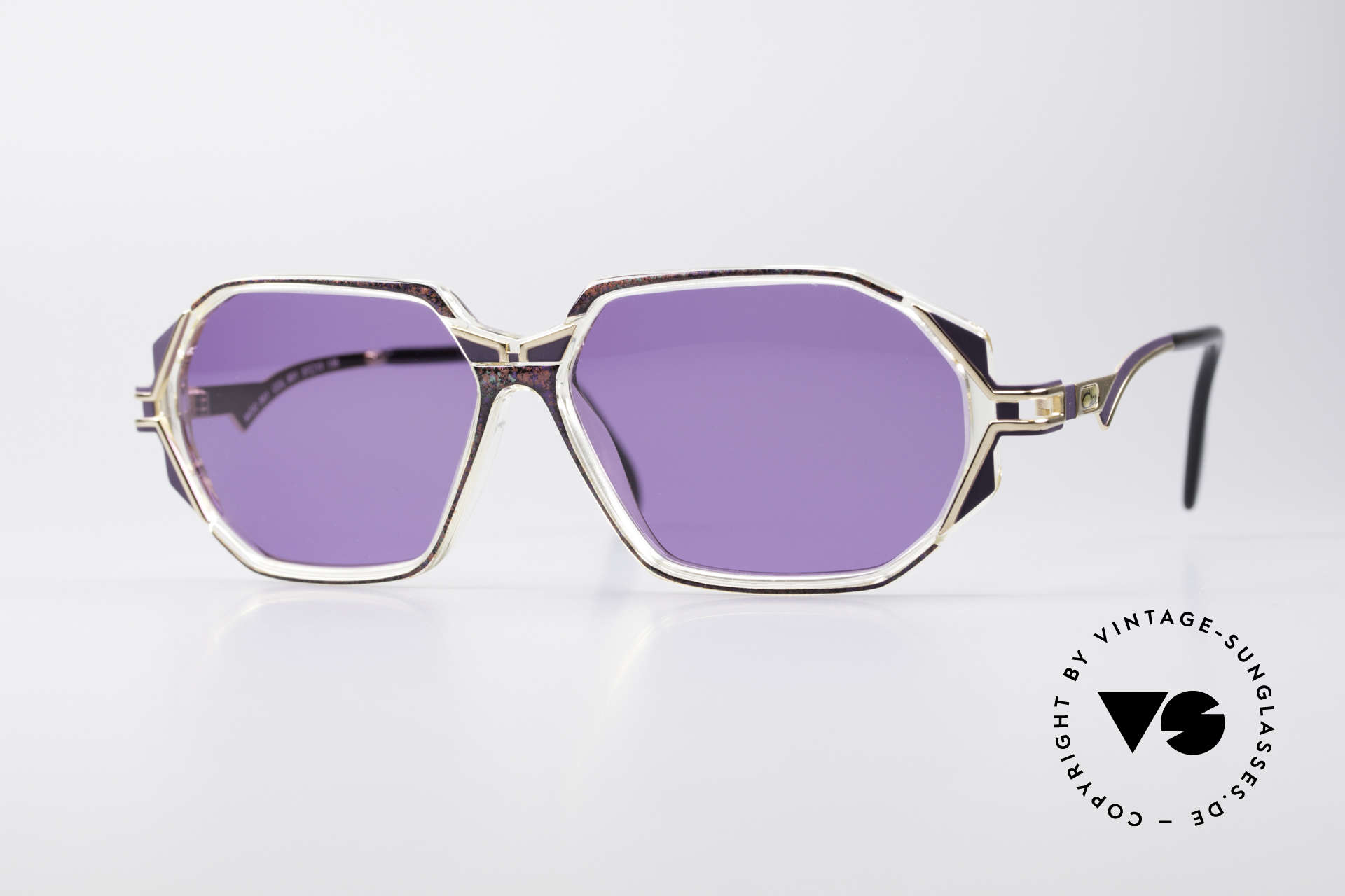 Cazal 361 Original 90's Sunglasses, adorned CAZAL sunglasses from the early / mid 1990's, Made for Women