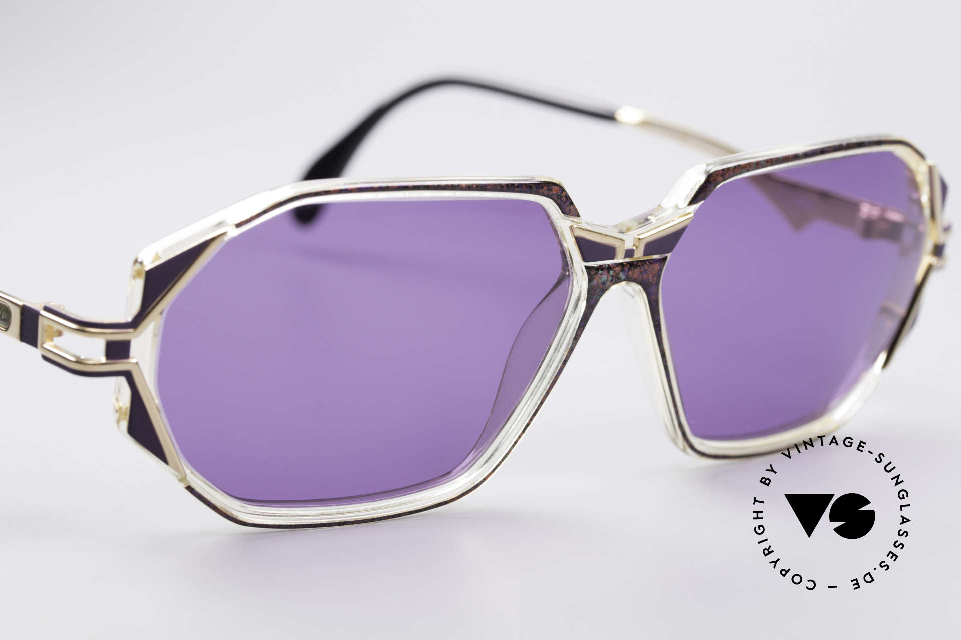 Cazal 361 Original 90's Sunglasses, never worn (like all our rare vintage CAZAL sunglasses), Made for Women