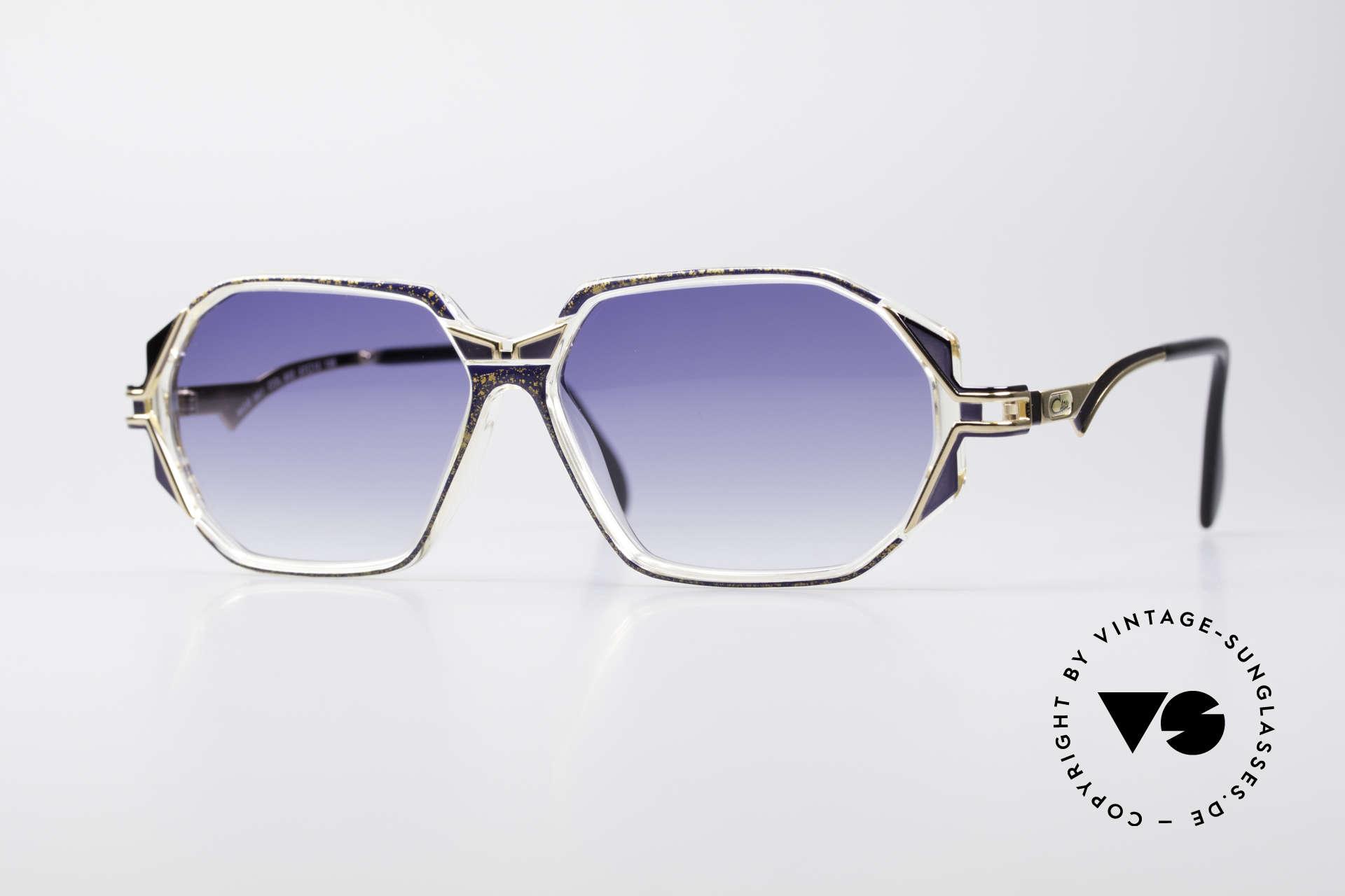 Cazal 361 Designer Sunglasses No Retro, adorned CAZAL sunglasses from the early / mid 1990's, Made for Women