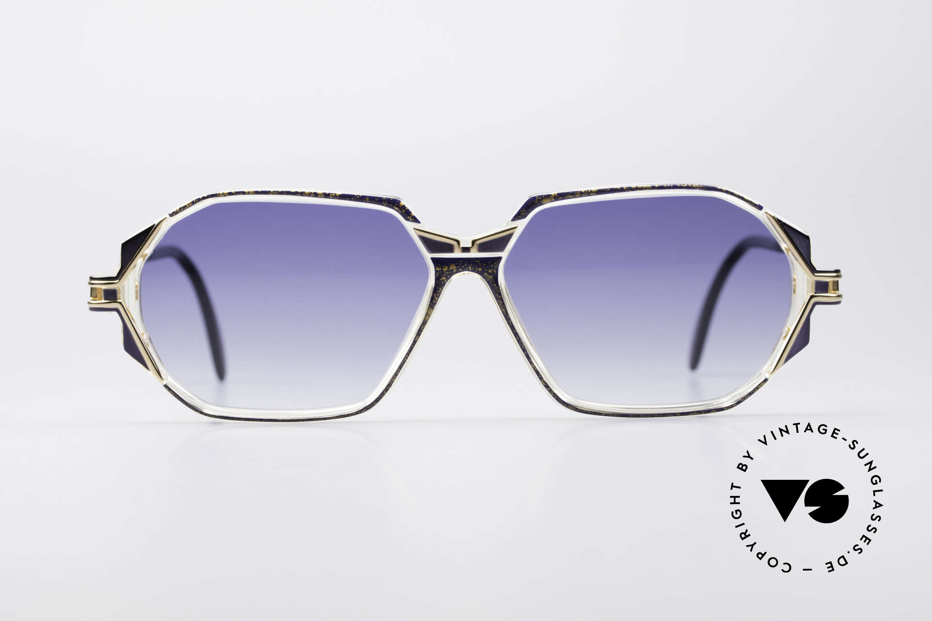Cazal 361 Designer Sunglasses No Retro, exciting design on the hinges of the arms; truly vintage, Made for Women