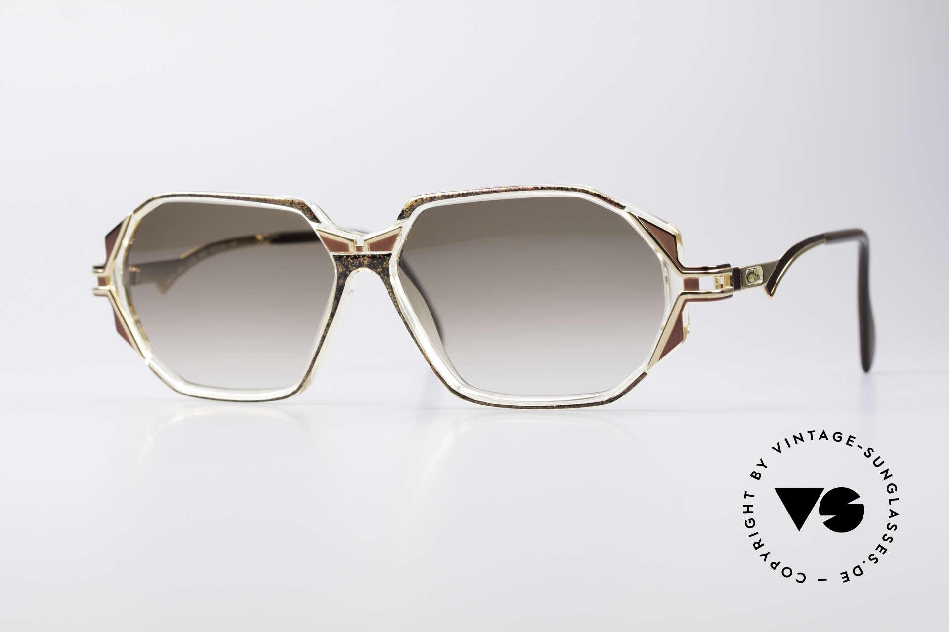 Cazal 361 Original Designer Sunglasses, adorned CAZAL sunglasses from the early / mid 1990's, Made for Women