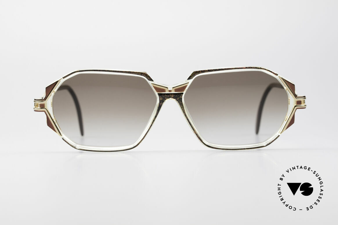 Cazal 361 Original Designer Sunglasses, exciting design on the hinges of the arms; truly vintage, Made for Women