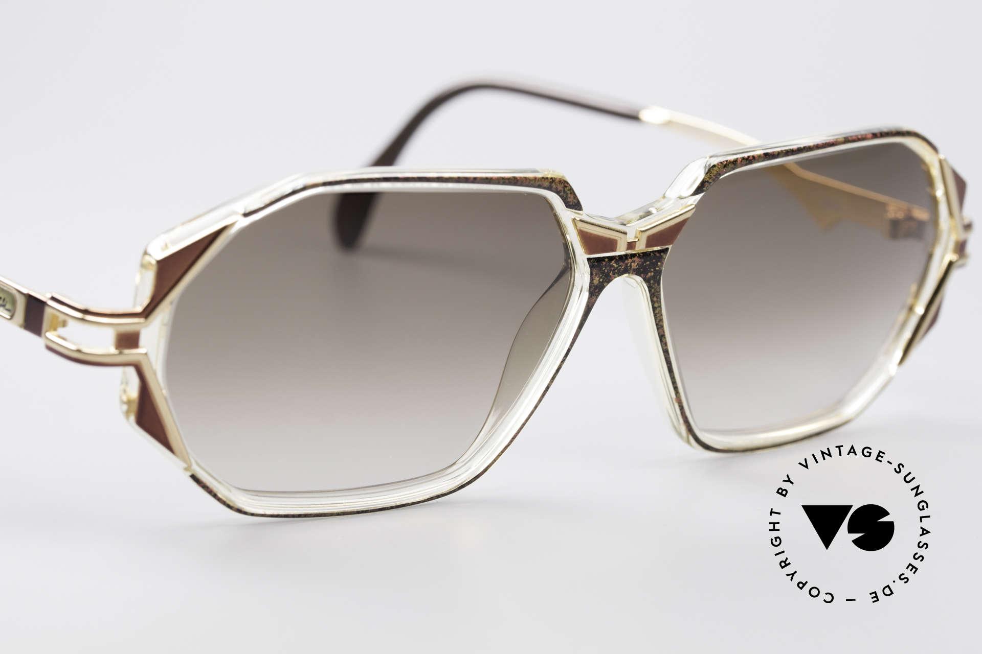 Cazal 361 Original Designer Sunglasses, never worn (like all our rare VINTAGE Cazal sunglasses), Made for Women