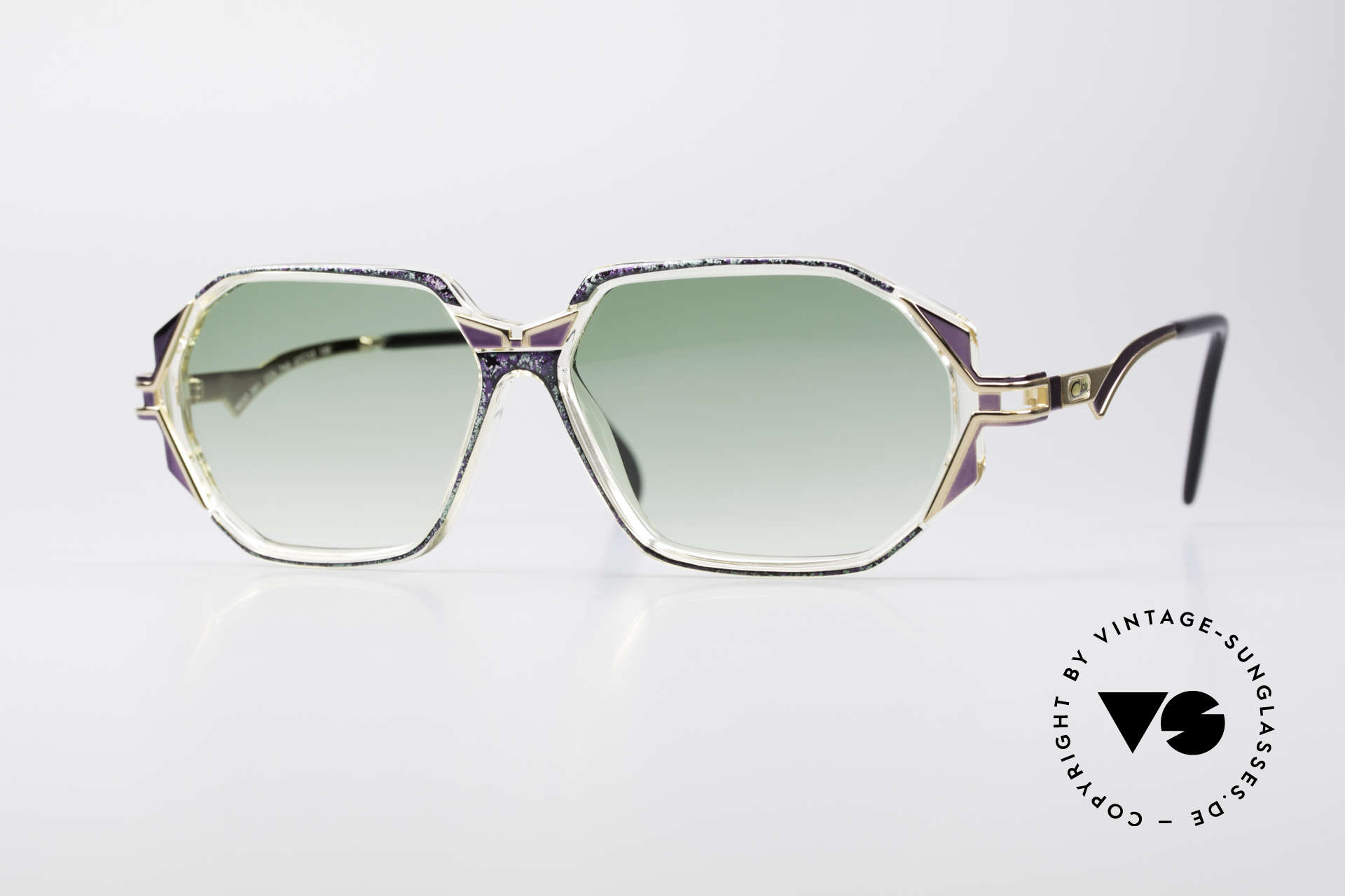 Cazal 361 Original Ladies 90s Sunglasses, adorned CAZAL sunglasses from the early / mid 1990's, Made for Women
