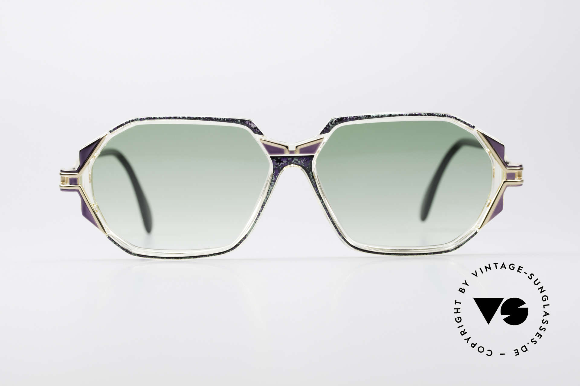Cazal 361 Original Ladies 90s Sunglasses, exciting design on the hinges of the arms; truly vintage, Made for Women