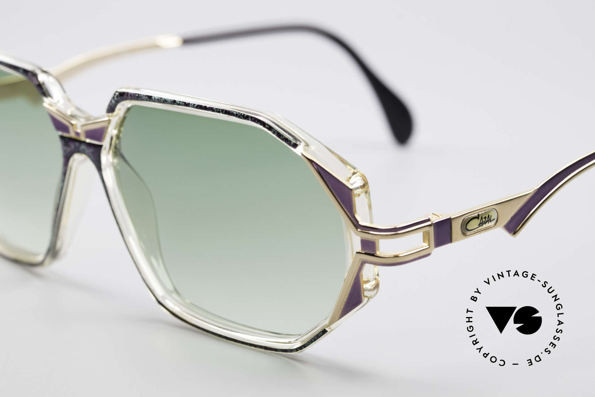 Cazal 361 Original Ladies 90s Sunglasses, top-notch crafting & great durability (made in Germany), Made for Women