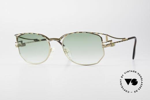 Cazal 289 True Vintage 90's Sunglasses Details